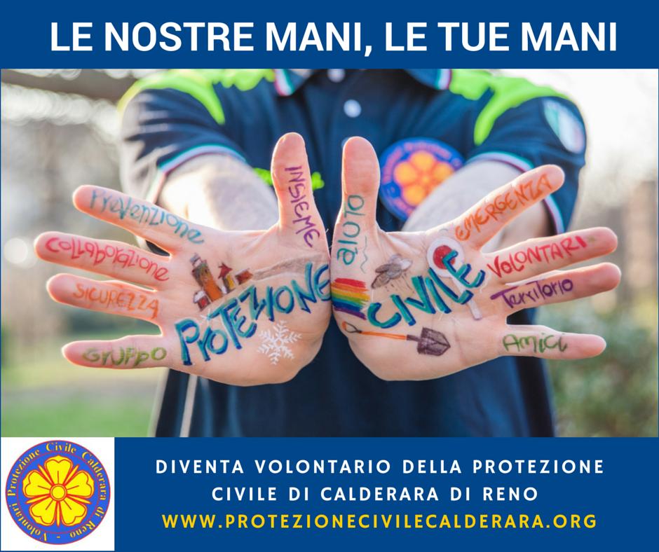 Campagna Protezione civile Calderara